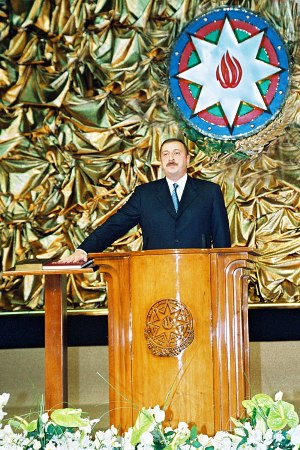 Azərbaycan Respublikasının Prezidenti İlham Heydər oğlu Əliyevin Andiçmə Mərasimində nitqi - 31 oktyabr 2003-cü il