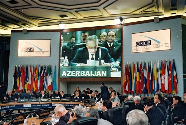 Речь Президента Азербайджанской Республики Гейдара Алиева на Стамбульском саммите ОБСЕ - 18 ноября 1999 года