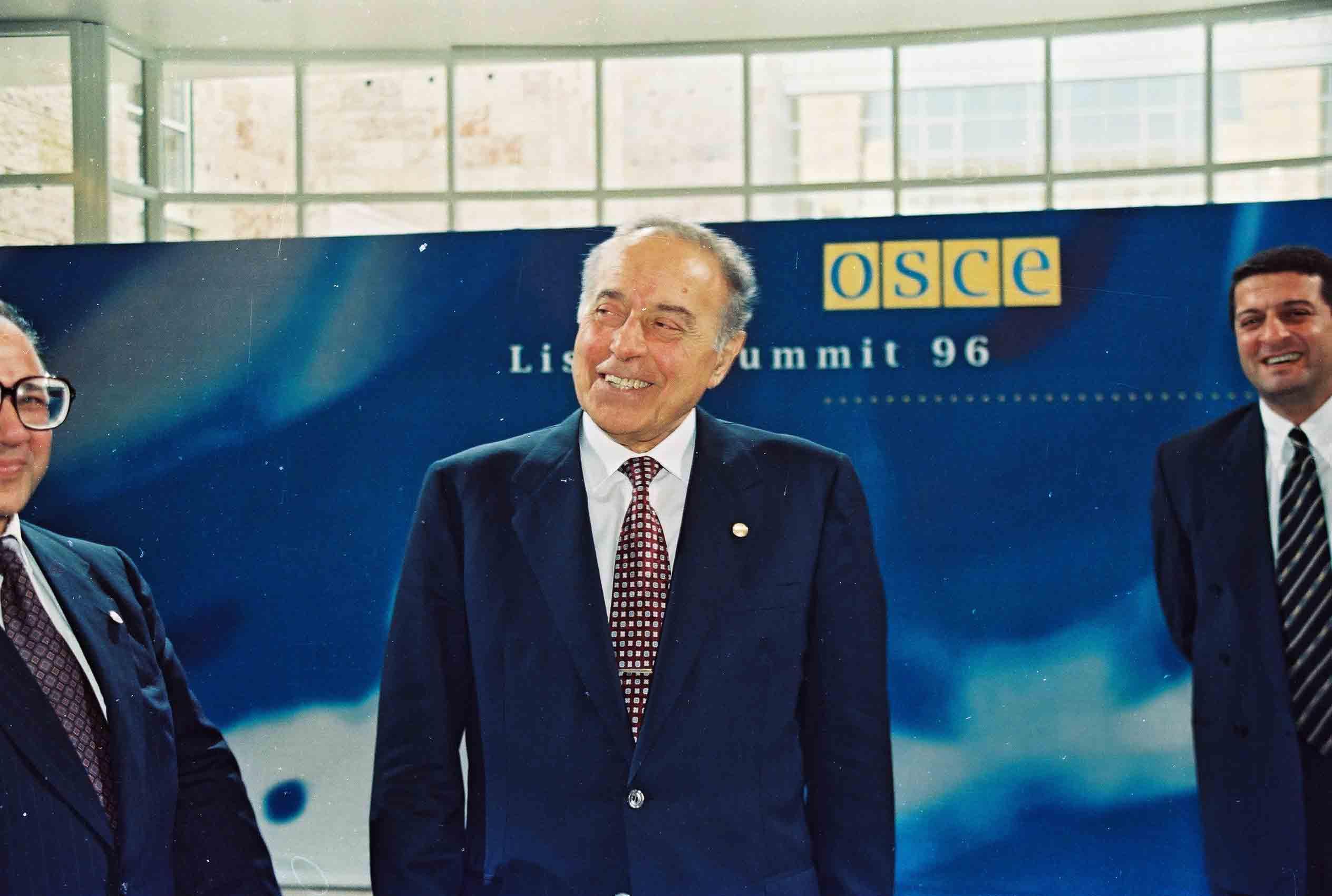 Речь Президента Азербайджанской Республики Гейдара Алиева на заключительном заседании Лиссабонского саммита ОБСЕ - 3 декабря 1996 года